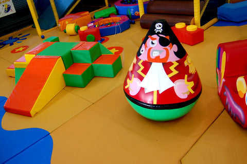 Pirate Wobbly Soft Play Character