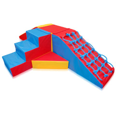 600 Series 'Ziggurat' Agility Set - The Soft Brick Company - 1