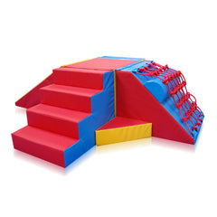 800 Series 'Ziggurat' Agility Set - The Soft Brick Company