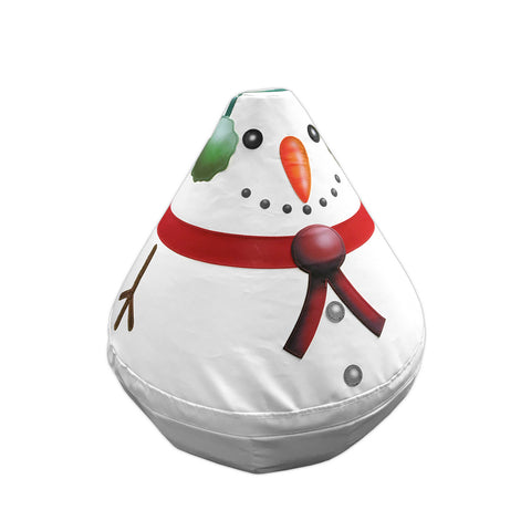 Soft Play Wobbly Character - Baby Snow Man