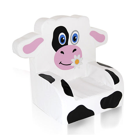 Cow Themed Soft Play Chair