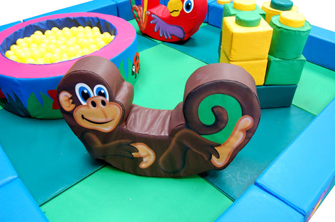 Jungle Packaway Soft Play Kit - 3m x 3m