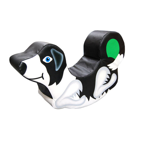 Soft Play Sheep Dog Medium Rocker