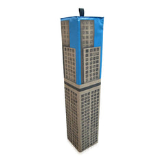Empire State Building Skyscraper World of Play Soft Play Biff Bash Bag - The Soft Brick Company