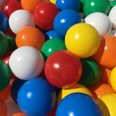 500 x Soft Play Ball Pool Balls (Ballpool / ball pit)