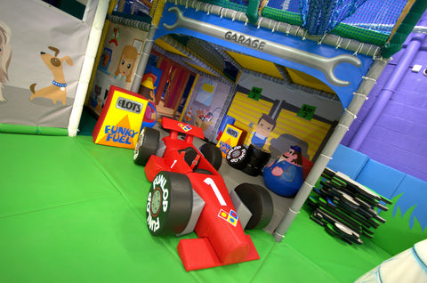 Soft Play Petrol Pump