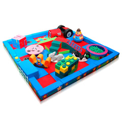 Farm Packaway Soft Play Kit - 5m x 5m - The Soft Brick Company