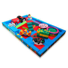 Farm Packaway Soft Play Kit - 6m x 4m - The Soft Brick Company