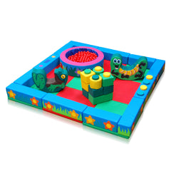 Land and Forest Packaway Soft Play Kit - 3m x 3m - The Soft Brick Company