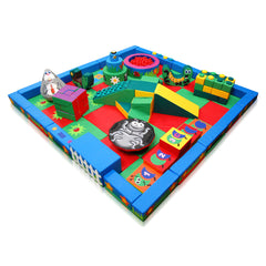 Land and Forest Packaway Soft Play Kit - 5m x 5m - The Soft Brick Company