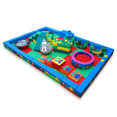 Land and Forest Packaway Soft Play Kit - 6m x 4m - The Soft Brick Company