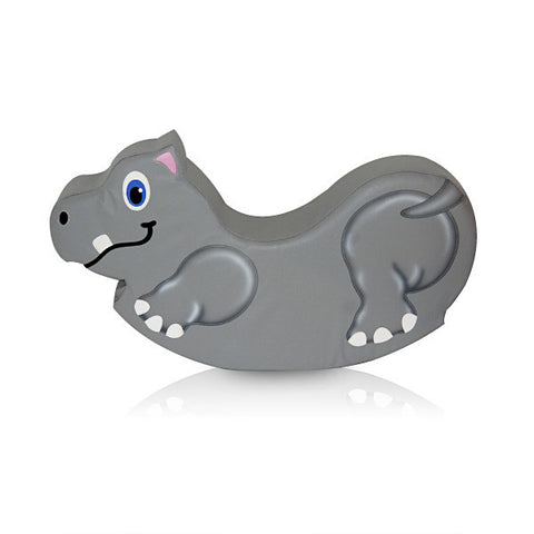 Soft Play Hippo Medium Rocker