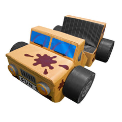 Jungle Jeep Car - The Soft Brick Company