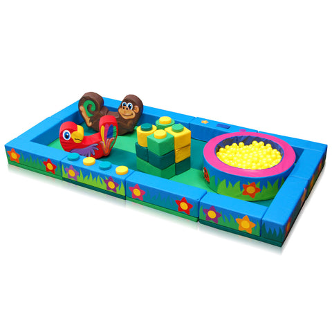 Jungle Packaway Soft Play Kit - 2m x 4m