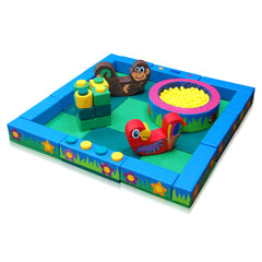 Jungle Packaway Soft Play Kit - 3m x 3m - The Soft Brick Company