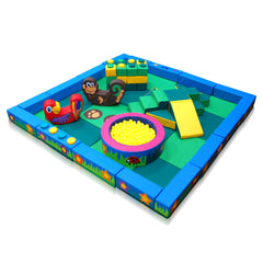 Jungle Packaway Soft Play Kit - 4m x 4m - The Soft Brick Company