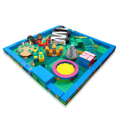 Jungle Packaway Soft Play Kit - 5m x 5m - The Soft Brick Company