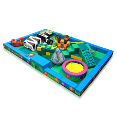 Jungle Packaway Soft Play Kit - 6m x 4m - The Soft Brick Company