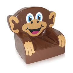 Monkey Themed Soft Play Chair - The Soft Brick Company