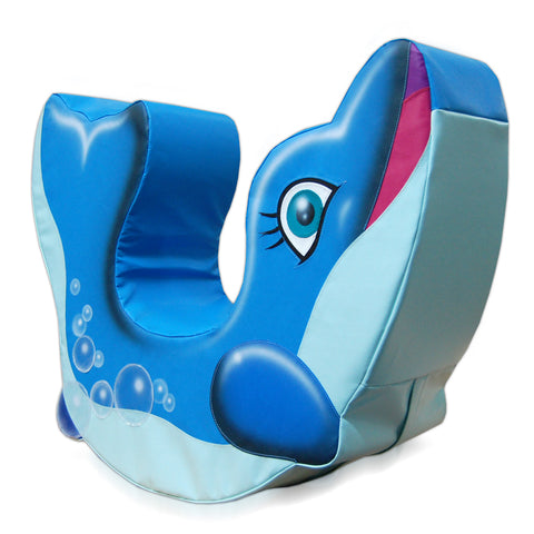Mummy Dolphin Rocker - Medium
