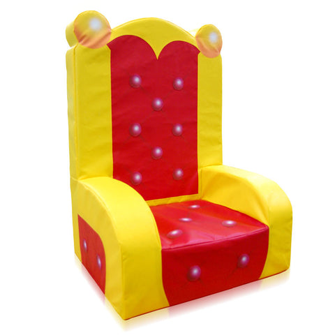 Throne Themed Soft Play Chair