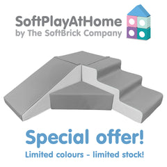 SPECIAL OFFER - Soft Play at Home - 400 Series Step & Slide Corner Set - FREE Delivery!
