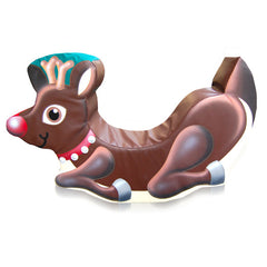 Rudolph Reindeer Rocker - Medium - The Soft Brick Company