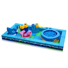 Under the Sea Packaway Soft Play Kit - 2m x 4m - The Soft Brick Company