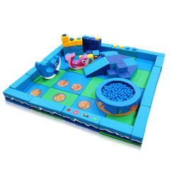 Under the Sea Packaway Soft Play Kit - 4m x 4m - The Soft Brick Company