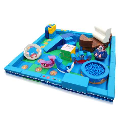 Under the Sea Packaway Soft Play Kit - 5m x 5m