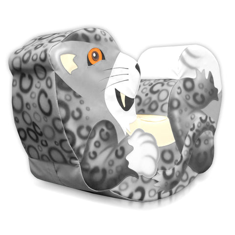 Snow Leopard Rocker - Medium