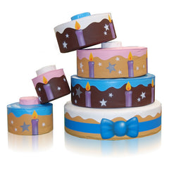 Role Play Birthday Cake - The Soft Brick Company