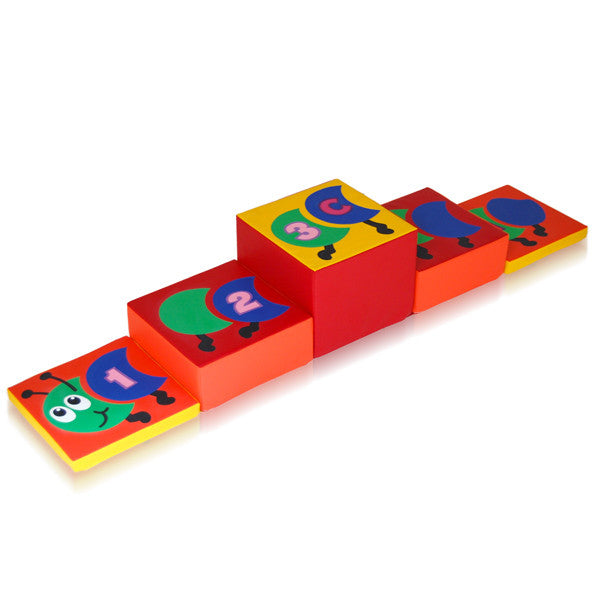 Soft Play Caterpillar Giant Steps