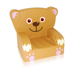 Teddy Themed Soft Play Chair - The Soft Brick Company