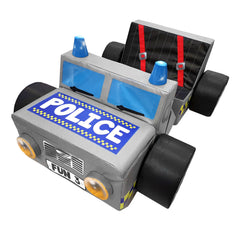 Police Jeep Car - The Soft Brick Company