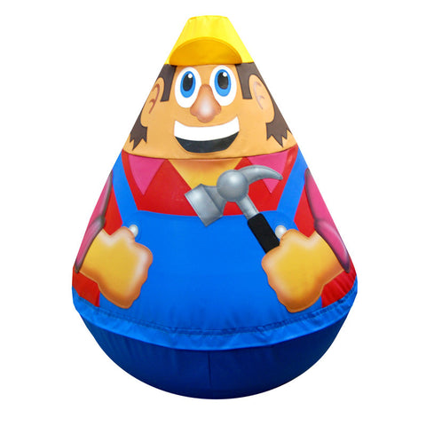 Builder Wobbly Soft Play Character