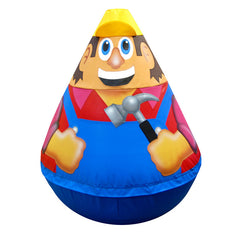 Builder Wobbly Soft Play Character - The Soft Brick Company