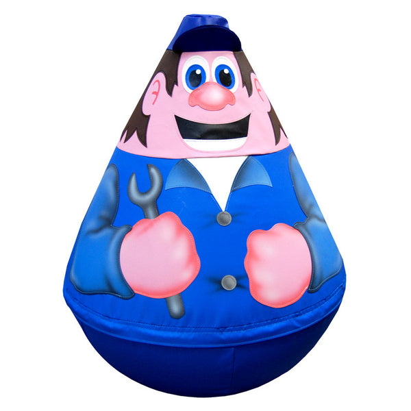 Mechanic Wobbly Soft Play Character
