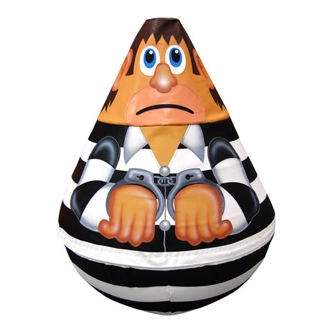 Prisoner Wobbly Soft Play Character