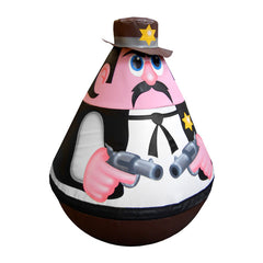Sheriff Wobbly Character - The Soft Brick Company