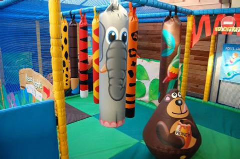 Brown Bear Wobbly Soft Play Character
