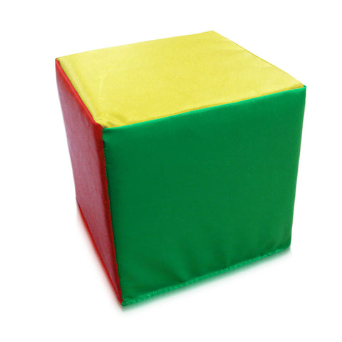 Multi Coloured Foam Cube