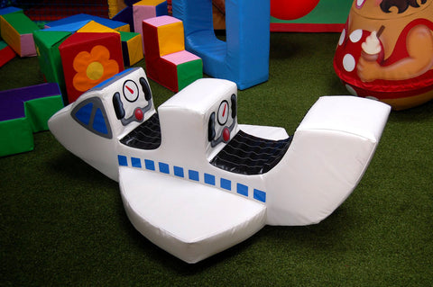 Soft Play Double Space Ship Rocker