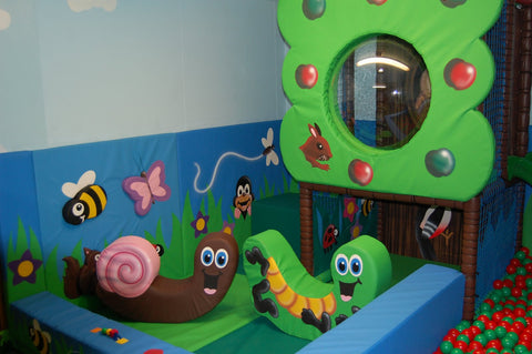 Soft Play Caterpillar Medium Rocker