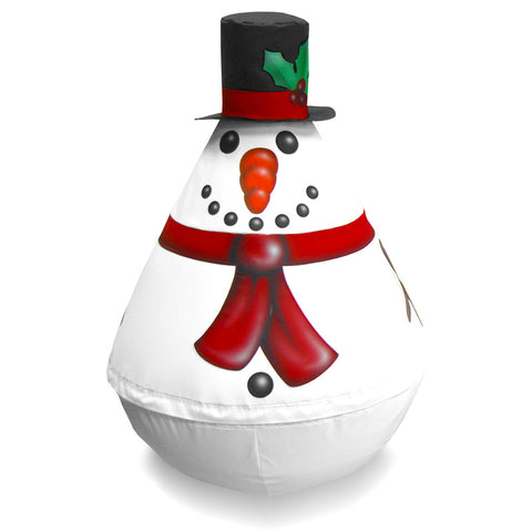 Soft Play Wobbly Character - Christmas Snow Man