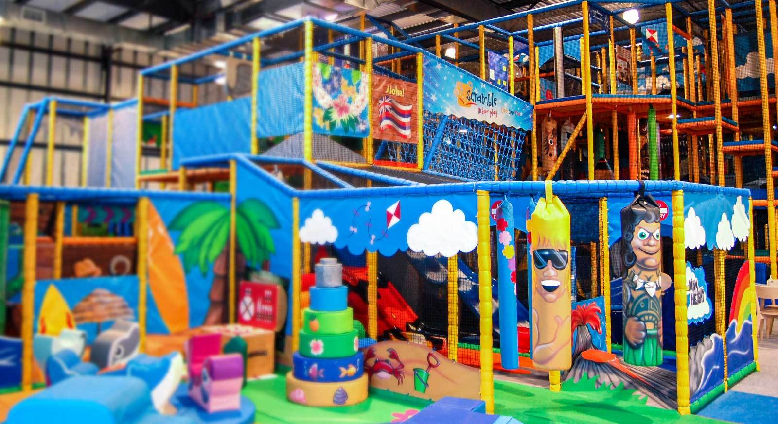 ...the indoor soft play experts!