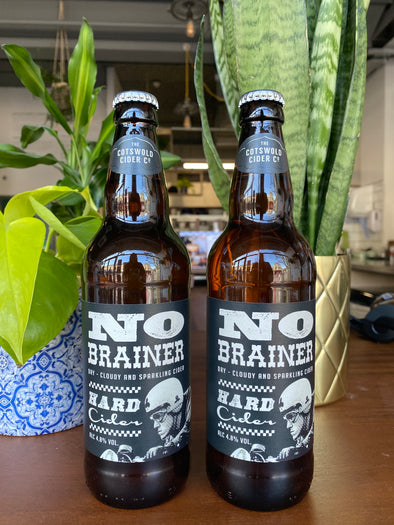 No Brainer Cider - Cotswold Cider Co. - 500ml x 2