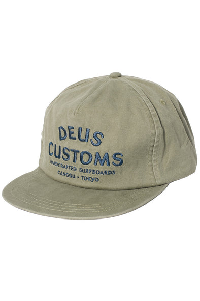 Deus ex Machina - Joe Cap - Washed Olive