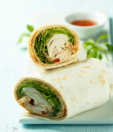 Deli Wrap of the Day (Meat) - Serves 1