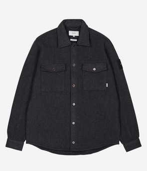 Makia - Rover Overshirt - Dark Grey